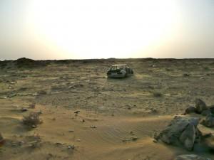Przejście graniczne z Mauretanią
