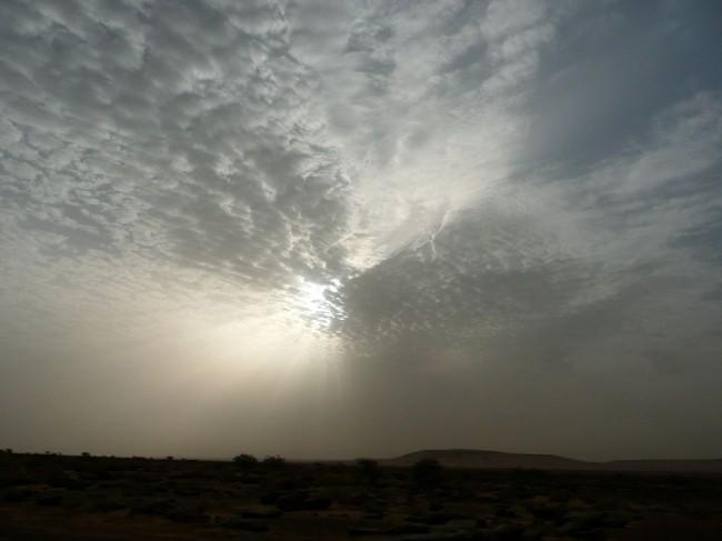 Niebo nad pustynią