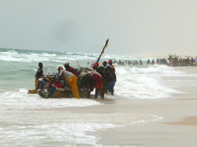 Port rybacki w Nouakchott
