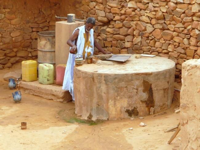 Studnia w Chinguetti
