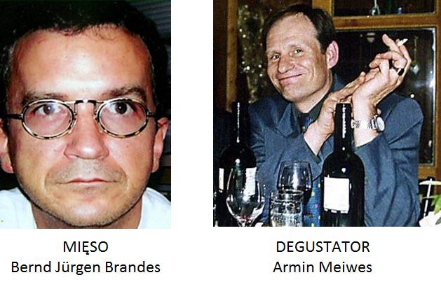Armin Meiwes i Bernd Brandes