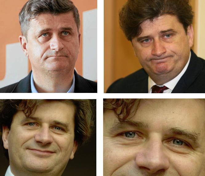 Twarze Janusza Palikota