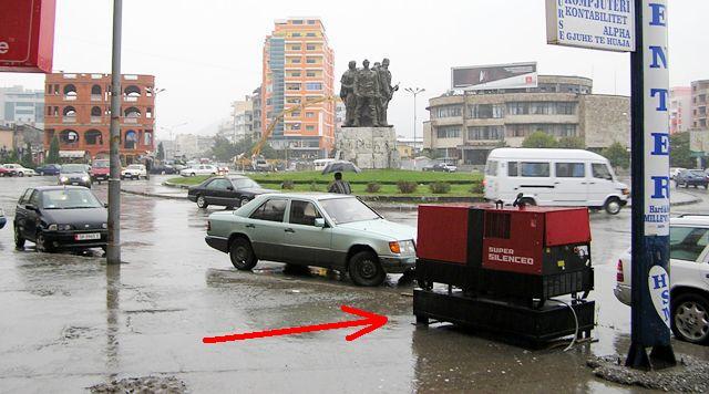 Albańska ulica