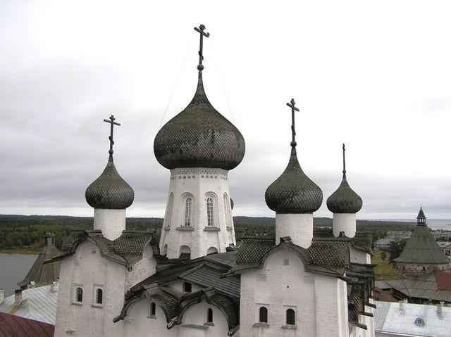Sołowki kreml z góry